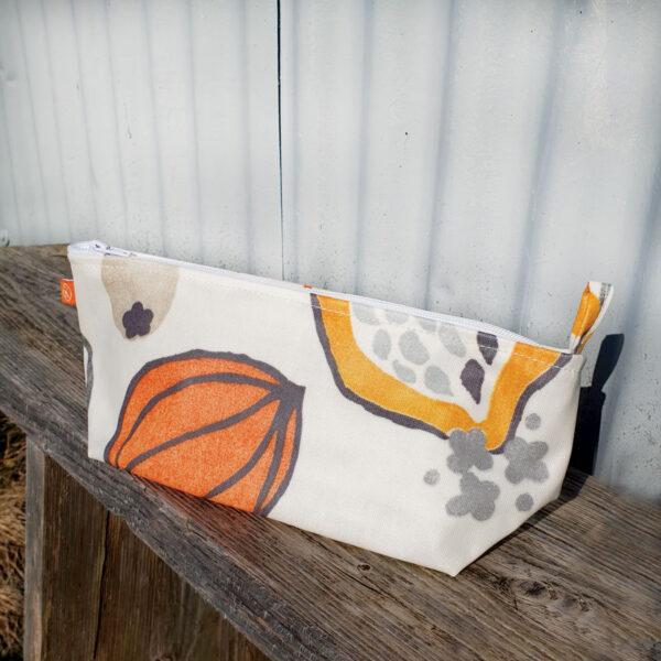 Orange Vine Make Up Bag