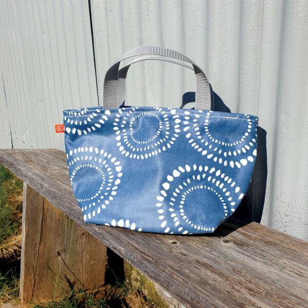 Blue Burst Wash Bag