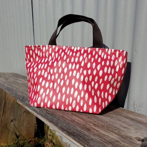 Red Dash Wash Bag